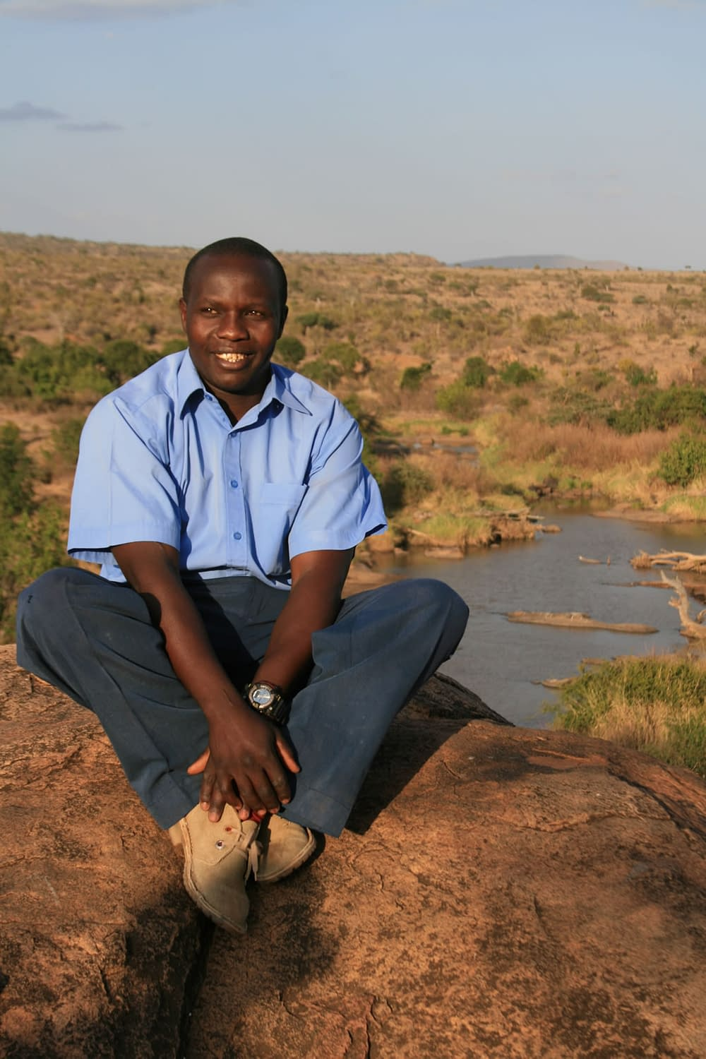 David Macharia is teh Assistant Lodge Manager in our team